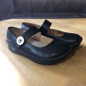 Algeria Paloma black Napa shoes
